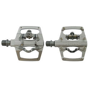 KCNC AM Trap Klickpedale Dual Side silver